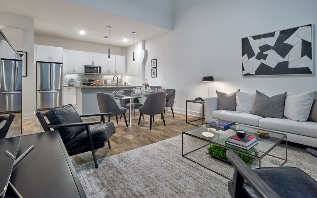 Prism's Edison Lofts Hits the Mark for Young Couple's First Place Together